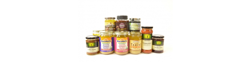 Healthy Sauces, Jam & Nut Spread