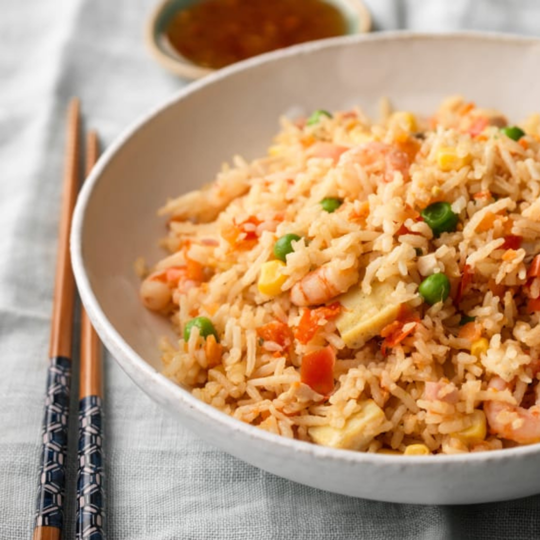 Lobster Oil Shrimp Fried Rice