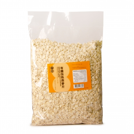 Organic Quick Cooking Rolled Oats 450g