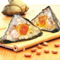 Rice Dumpling with Peanut and Seasoned Meat