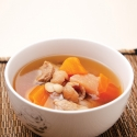 Pear and Pork Shank Soup (for 2 persons)