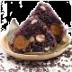 Purple Rice Dumpling with Seasoned Meat