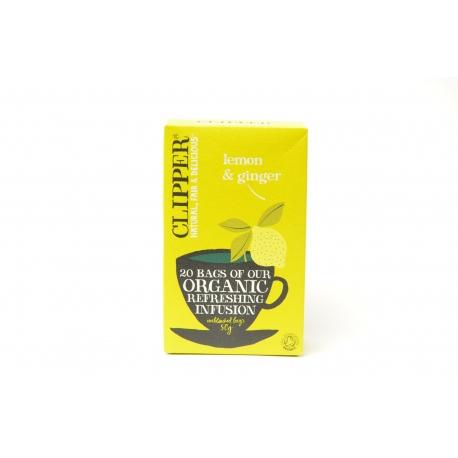Clipper 檸檬薑茶 (有機) (50克)