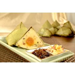 Rice Dumpling with Ba Bao Sauce and Seasoned Meat