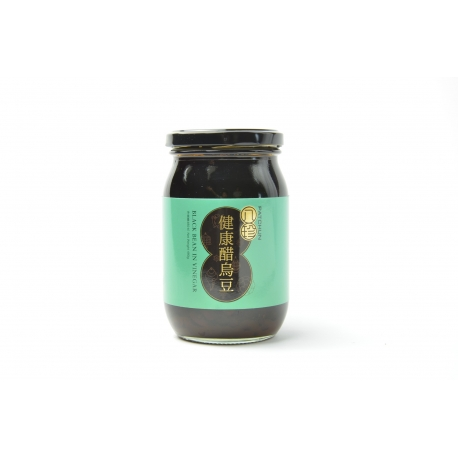 Black Bean in Unsweetened Vinegar (480g)